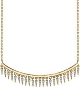 Sydney Evan 14k Diamond Fringe Drop Bar Necklace