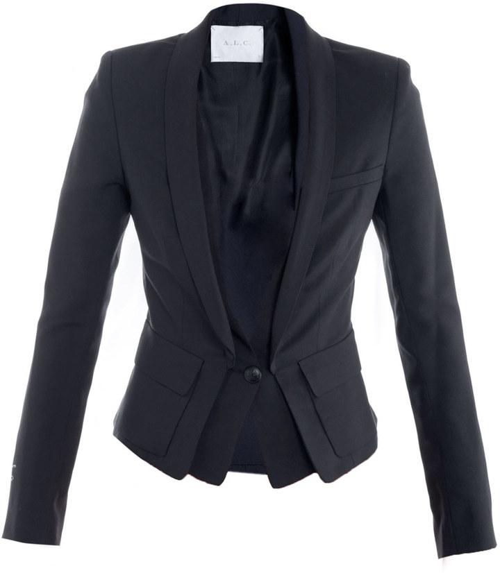 A.L.C. Mohair blazer