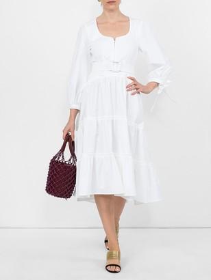 Proenza Schouler Poplin Midi Dress