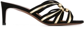 L'Autre Chose Two-Tone 65mm Strappy Sandals