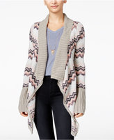 Self Esteem Juniors' Chevron Draped Cardigan