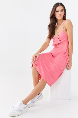 Forever 21 Knotted Cami Midi Dress