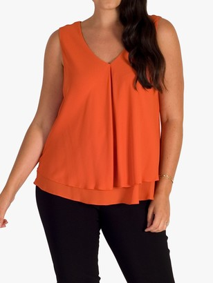 Chesca Layer Top, Orange