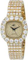 Adee Kaye Women's AK26N-LG/CR Bijou Analog Display Quartz Gold Watch
