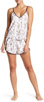 Shimera Satin Shortie Pajama Set