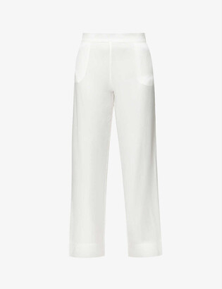 ASCENO London silk pyjama bottoms