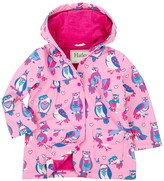 Hatley Happy Owls Waterproof Hooded Raincoat (Toddler, Little Girls, & Big Girls)