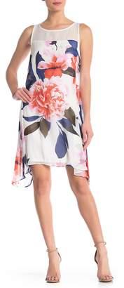 Robbie Bee Sleeveless Printed Dress