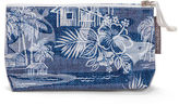 A. T NEW Tradewinds Navy Cosmetic Bag Small