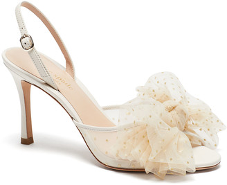 Bridal Sparkle Tulle Sandals
