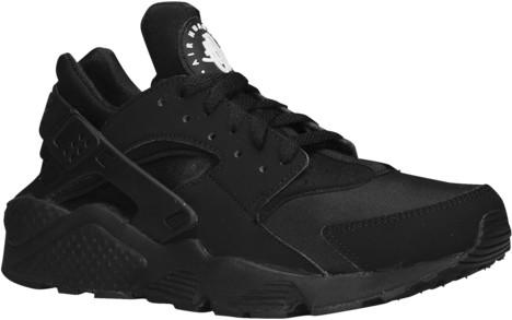 Nike Huarache Running Shoes - Black