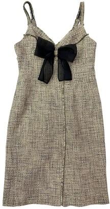 Sandro Spring Summer 2020 Beige Cotton Dress for Women