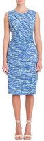 Nic+Zoe Plus Water Waves Twist Dress