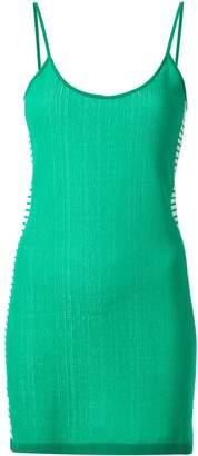 Nagnata retro stripe mini dress