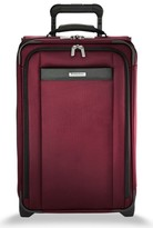 Briggs & Riley Men's Transcend 400 22-Inch Wheeled Carry-On - Red