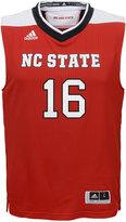 adidas Kids' North Carolina State Wolfpack Replica Basketball Jersey #16