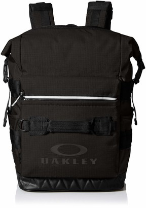 Oakley Utility Folded Backpack - Durable Cordura Fabric - Expandable Fit - Adjustable Side Strap - Side Water Bottle Pockets - Reflective Zipper - Travel Backpack