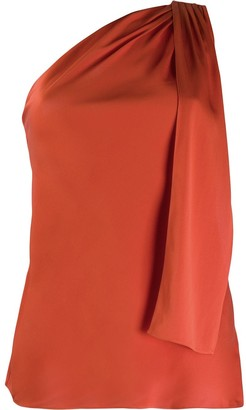 Theory Asymmetric Draped Blouse