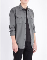 Nudie Jeans Gunnar Patches Cotton Shirt