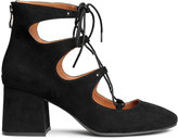 H&M Shoes with Lacing - Black - Ladies