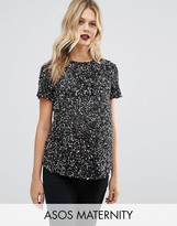 Asos T-Shirt with Scattered Embellishment