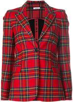 P.A.R.O.S.H. tartan blazer