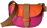 M Missoni Bicolor Leather Crossbody Bag Cross Body Handbags