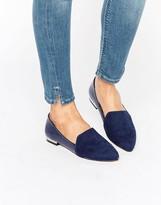 London Rebel Point Flat Shoes