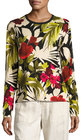 tommy bahama victoria blooms pullover sweater multi