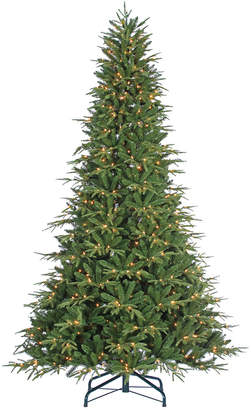 clear Sterling Tree Company 9Ft. Pre-Lit Natural Cut Frasier Fir W/ 1000 Lights