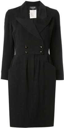 Chanel Pre Owned Tuxedo Dress