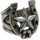 Femme Metale Jewelry Rockabilly Deluxe Ring - 5381