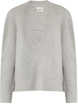 LE KASHA Moscow deep V-neck cashmere sweater