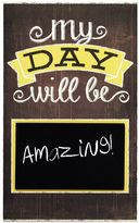 New View ''My Day Will Be'' Chalkboard Wall Decor