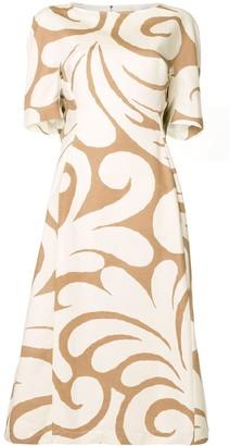 Marni Swirl-Print Dress