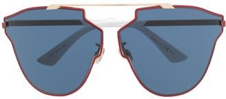 Christian Dior So Real So Fast asymmetric-frame sunglasses