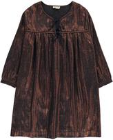 soeur Metallic Violette Dress