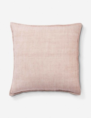 Lulu & Georgia Emalita Linen Pillow, Cameo Rose
