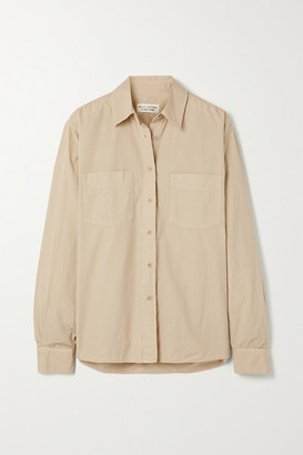 Nili Lotan Kelsey Cotton-poplin Shirt