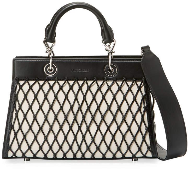 Altuzarra Shadow Small Grid Tote Bag