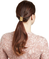 Jennifer Behr Medusa Brass Snake Ponytail Wrap, Gold