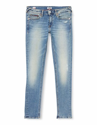 Tommy Jeans Women's Sophie Low Rise Skinny Ankl Smlt Straight Jeans
