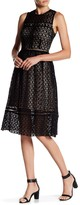 J.o.a. Sleeveless Crochet Dress