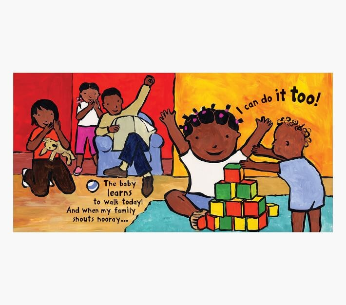 Thumbnail for your product : Pottery Barn Kids I Can Do It Too! Board Book