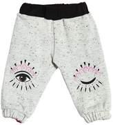 Kenzo Reversible Crepe & Cottons Sweatpants
