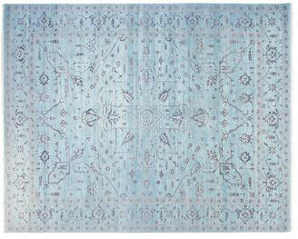 F.J. Kashanian 9'x12' David Rug - Silver Blue