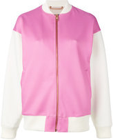Diesel contrasted bomber jacket - women - Cotton/Polyester/Spandex/Elastane - XS