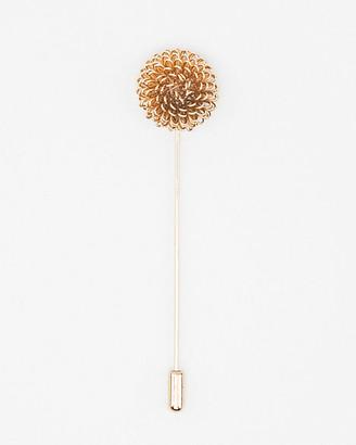 Le Château Floral Metal Lapel Pin