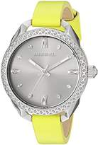 Diesel Women's DZ5545 Shawty Green Leather Watch