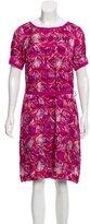 Tory Burch Printed Devoré Dress